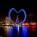 I Love London - The London Eye / Heart by Simon Hadleigh-Sparks