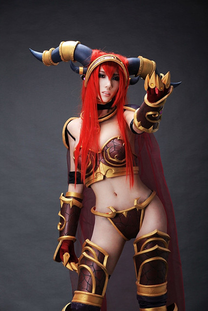 World Of Warcraft Alexstrasza Cosplay Flickr Photo