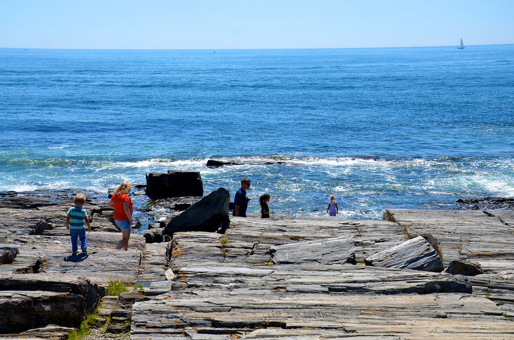 On The Rocks At The Lobster Shack | In Cape Elizabeth, Maine… | Flickr