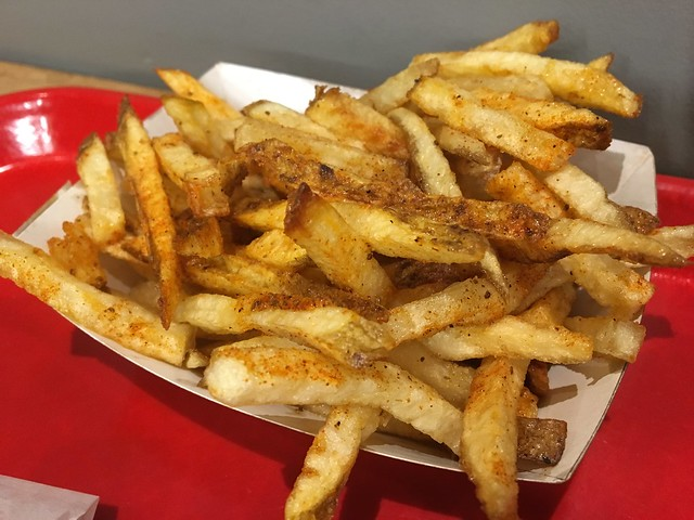 Seasoned fries - Popsons Burgers