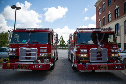 North Charleston Fire Department takes delivery of new trucks | by North Charleston