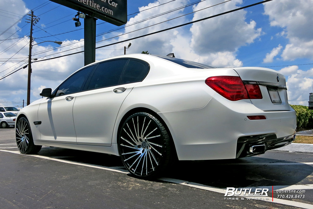 Bmw 7 Series With 22in Lexani Wraith Wheels View