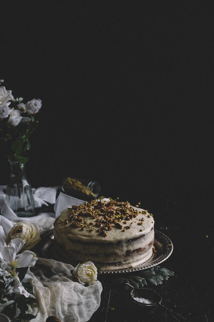 Hummingbird Cake with a Goat Cheese & Chamomile Tea Frosting || TermiNatetor Kitchen