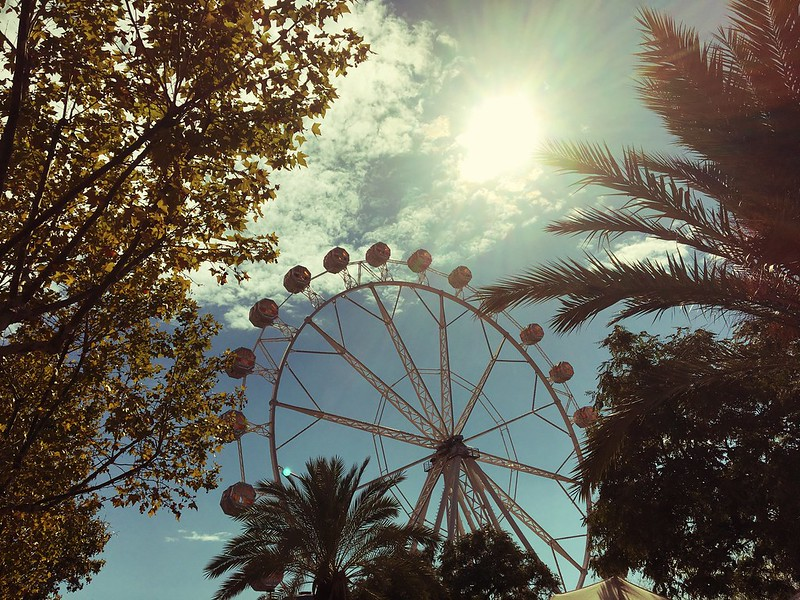 Barceloneta Ferris Wheel La Merce 2016