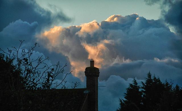 Sunrise Over Chimney