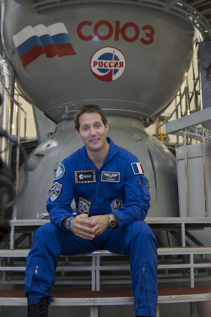 Image result for thomas pesquet astronaut