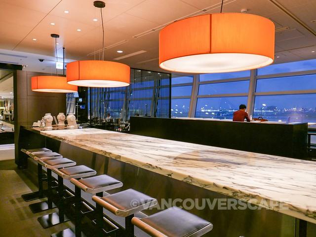 ANA Premium Economy-Haneda Lounge-11