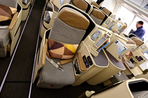 Etihad Business Class | by Daniel Gillaspia