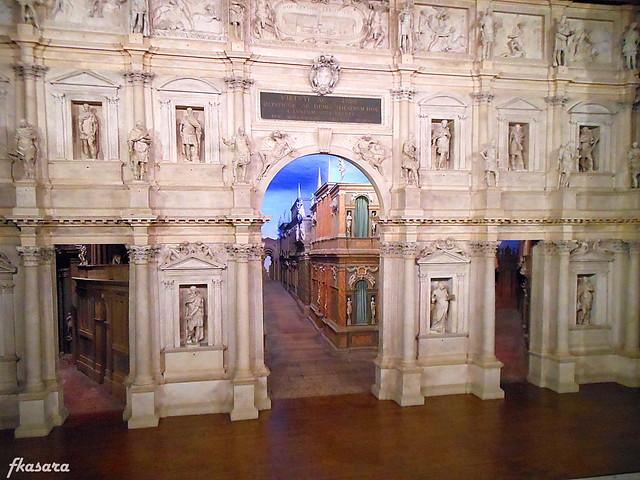 Scenografia fissa, Teatro Olimpico - Vicenza