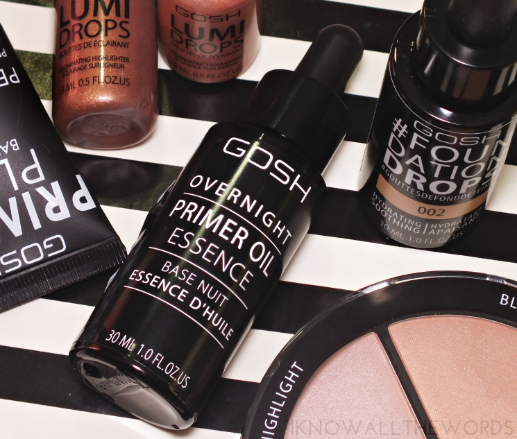 gosh overnight primer oil essence