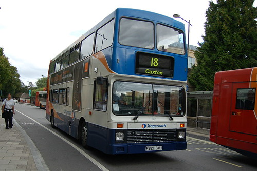 Stagecoach Volvo Olympian 16021 P821gmu Cambridge Flickr