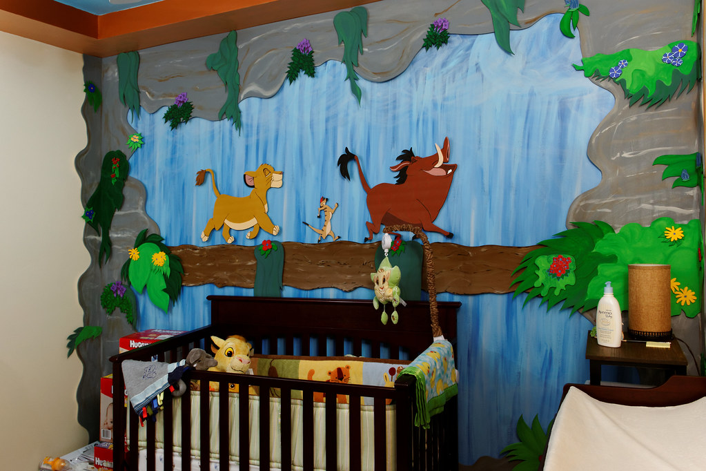 Lion King Nursery by J McCallister  Lion King Nursery My son s nursery  awaiting his. Lion King Baby Room