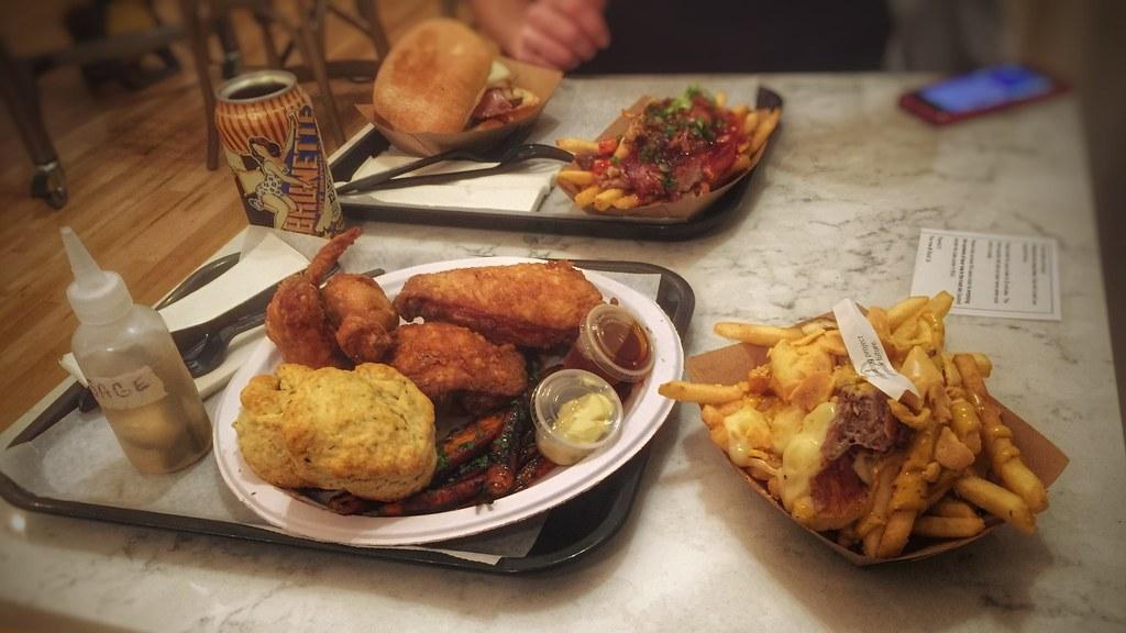 Fried Chicken Dragon Fries Block16 Omaha Ne Processe Flickr