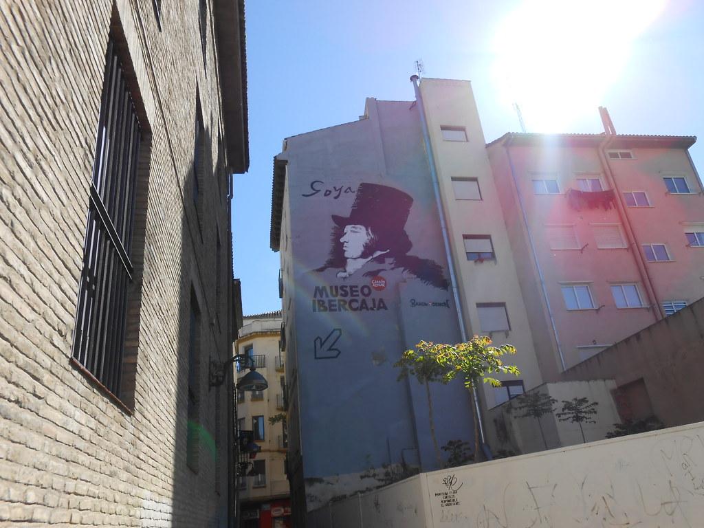 Hacia el museo Ibercaja Camón Aznar  Zaragoza Turismo  Flickr