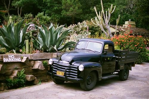 Classic Black Chevrolet Pickup