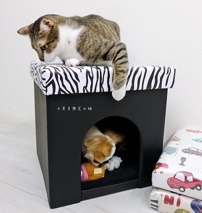 19 isufu舒福家居 寵物窩 收納椅凳