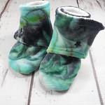 """Swirl Dye Booties 6-9 months 4.5"""""""