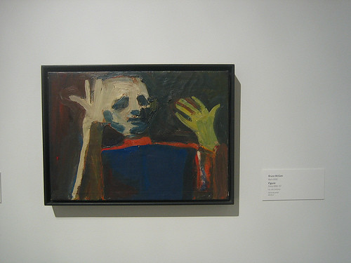 Figure, c. 1956-57, Oil on Canvas, Bruce McGaw, Oakland Museum of California _ 9486