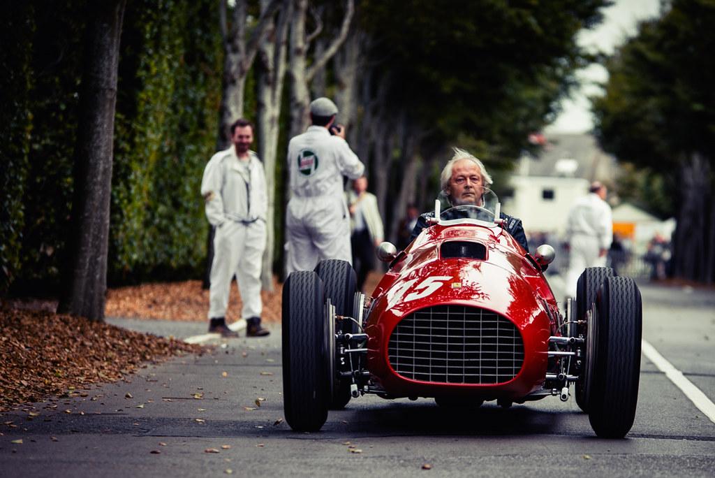 Free Car History Report >> Olav Glasius and Alexander van der Lof - 1950 Ferrari 340 ...