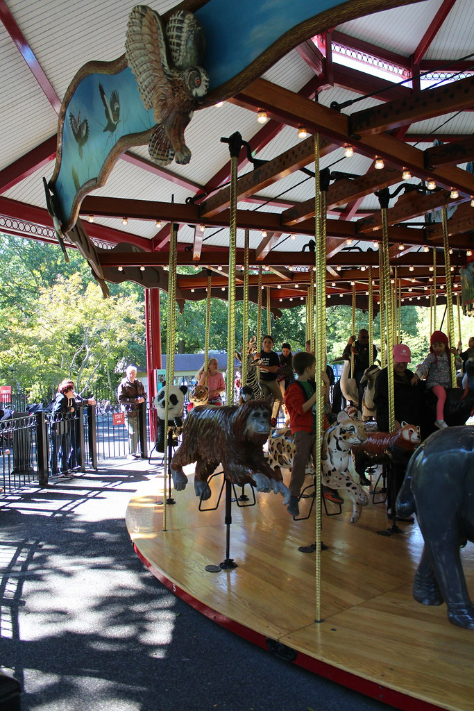 National Zoo Speedwell Conservation Carousel The
