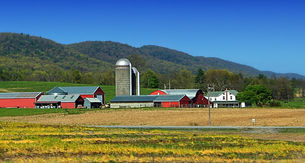 Penns Valley Farms 2 Farm Along Pa Route 45 Haines