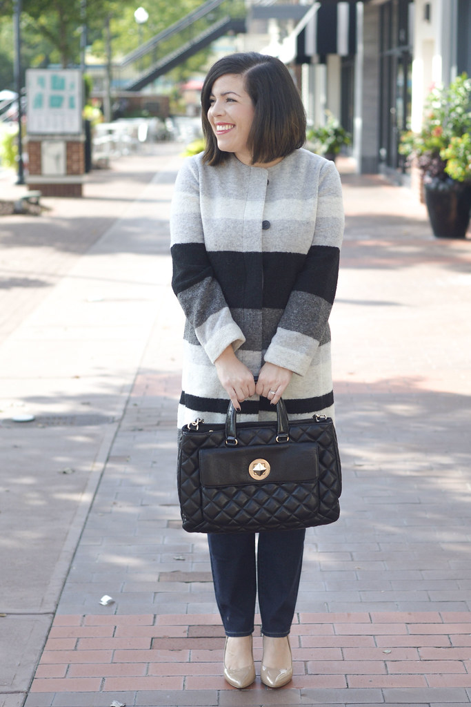 Head to Toe Chic-striped coat-@akeeleywhite