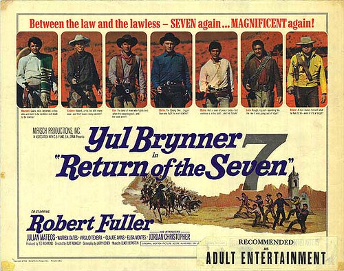 Return of the Magnificent Seven - Poster 4