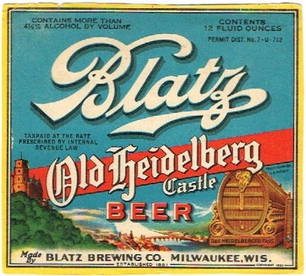 Blatz-Old-Heidelberg-Castle-Beer-Labels-Blatz-Brewing-Company