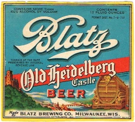 Blatz-Old-Heidelberg-Castle-Beer-Labels-Blatz-Brewing-Company