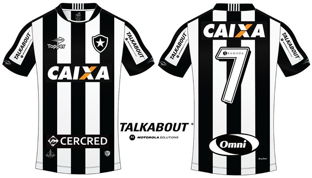 Camisa SCR x BFR - TalkAbout - 19.10.16