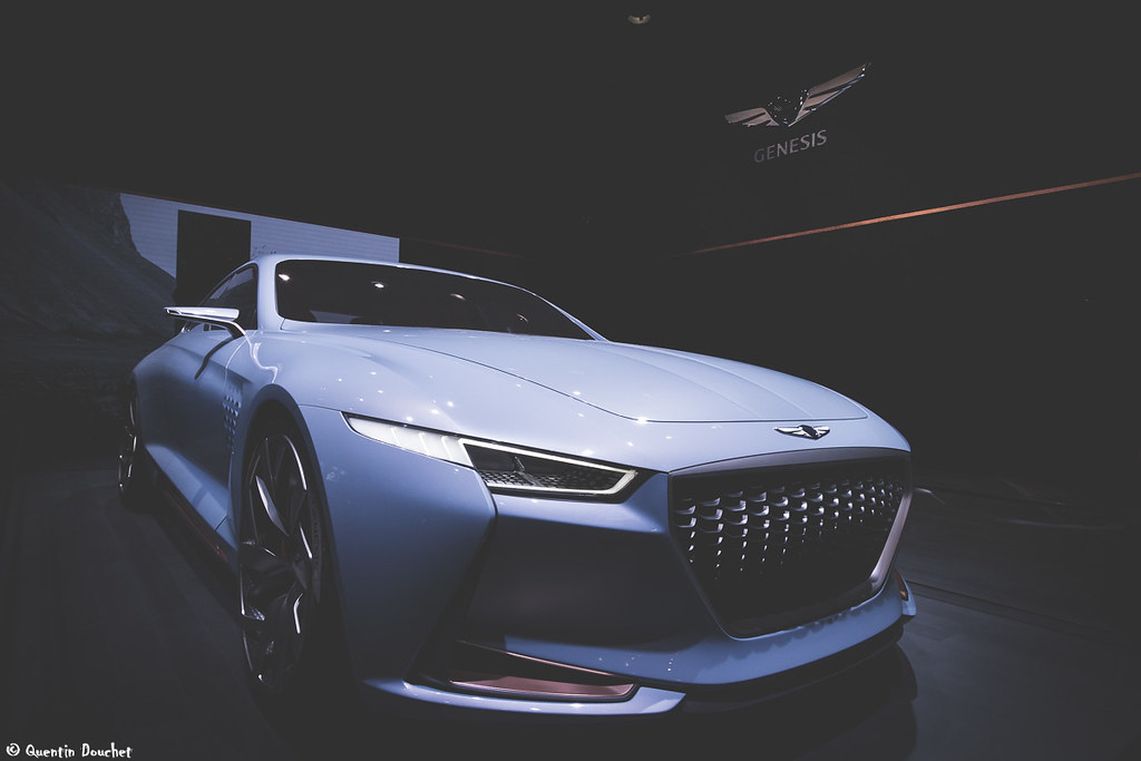 Genesis New York Concept Mondial Auto 2016 Concept Car D Flickr