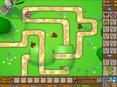 Bloons Tower Defense Birthday Cakes