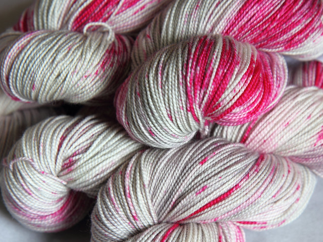 Favourite Sock – hand-dyed superwash merino 4 ply yarn 'Careless Whisper'