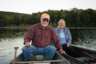 Mark & Patty in Canoes | by goingslowly