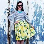 Lemons Clemence Skirt