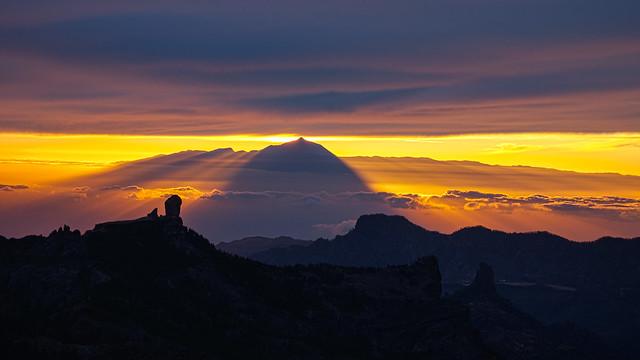 Teide Shadow on Earth