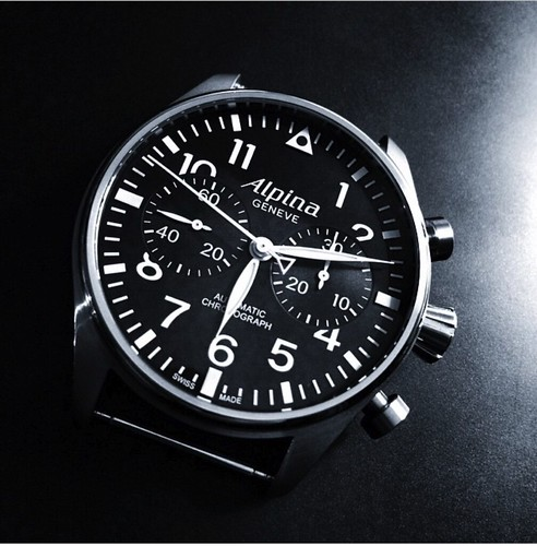 the alpina startimer pilot chronograph ref al 860b4s6 flickr. Black Bedroom Furniture Sets. Home Design Ideas