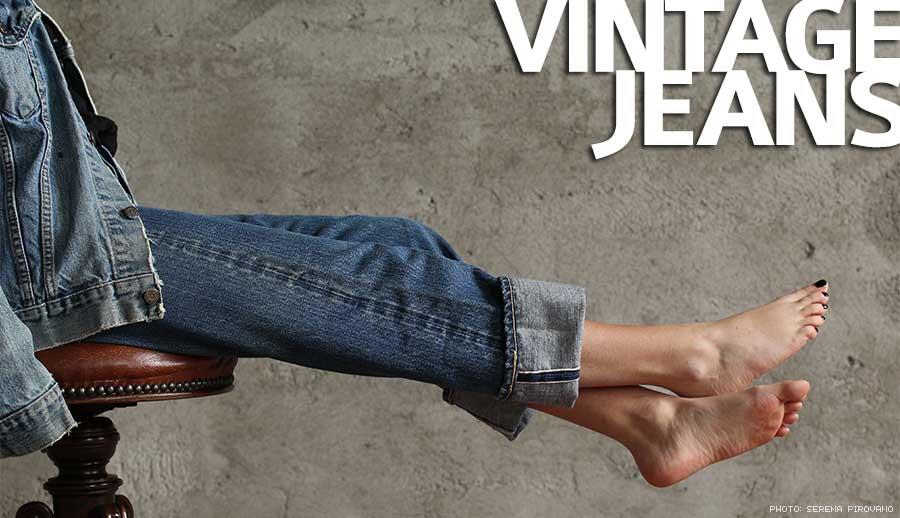 Vintage jeans an american legend