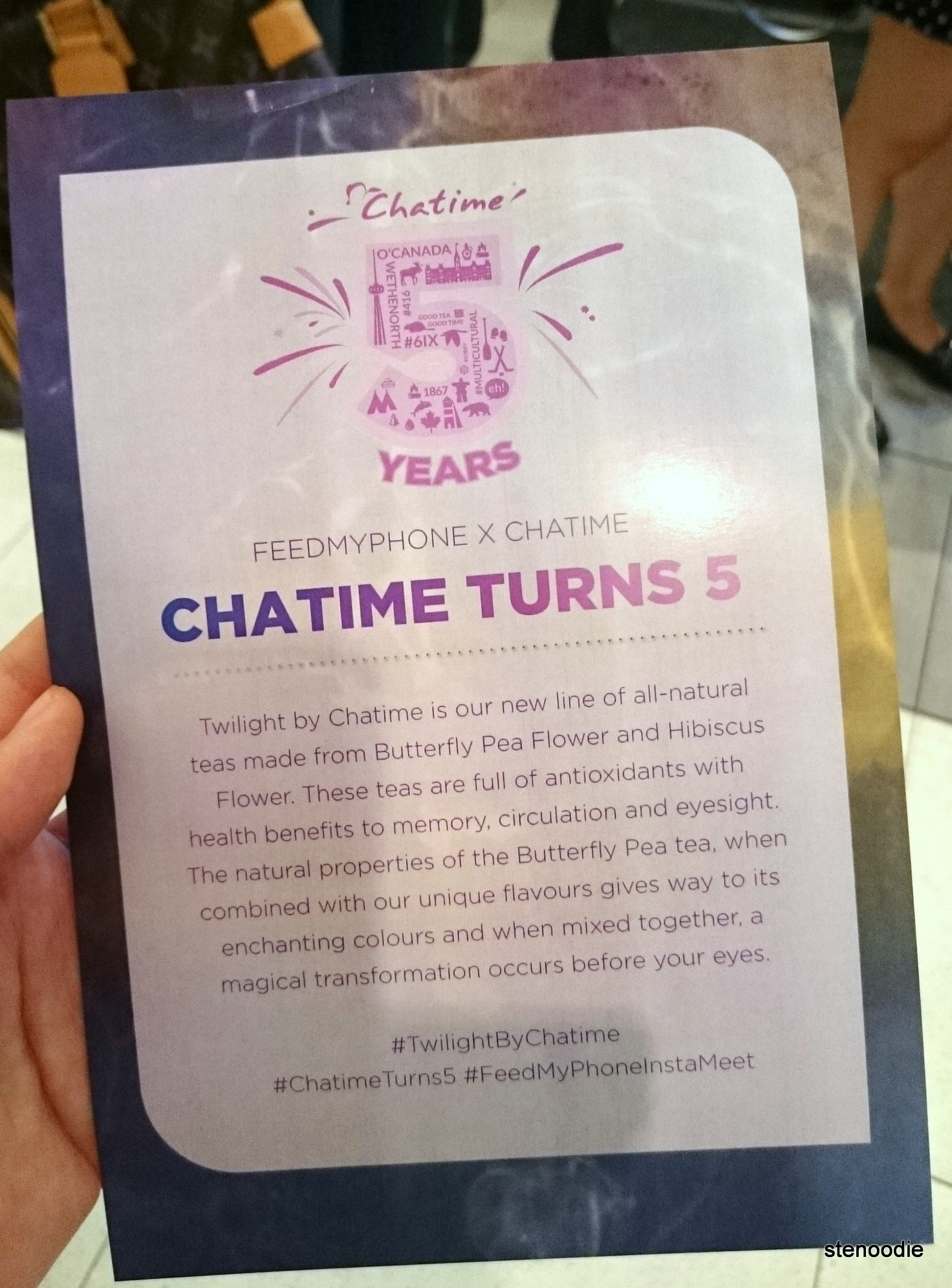 Chatime turns 5