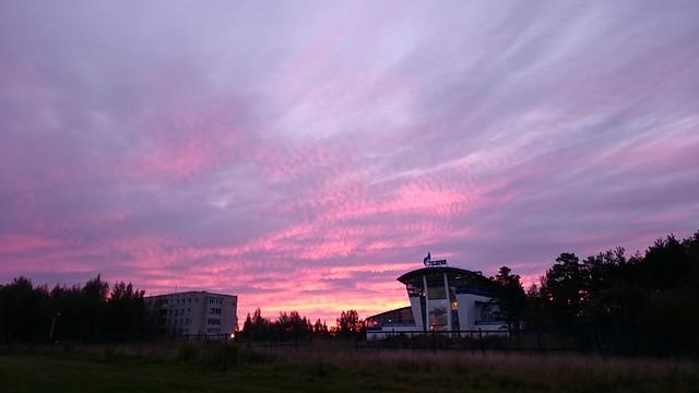 Утреннее небо // Morning sky
