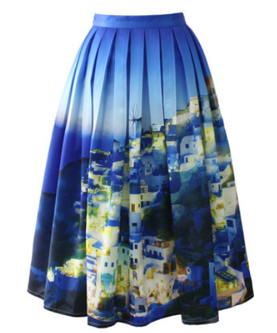 chicwish santorini skirt