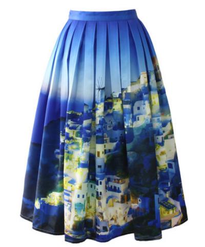 chicwish santorini skirt