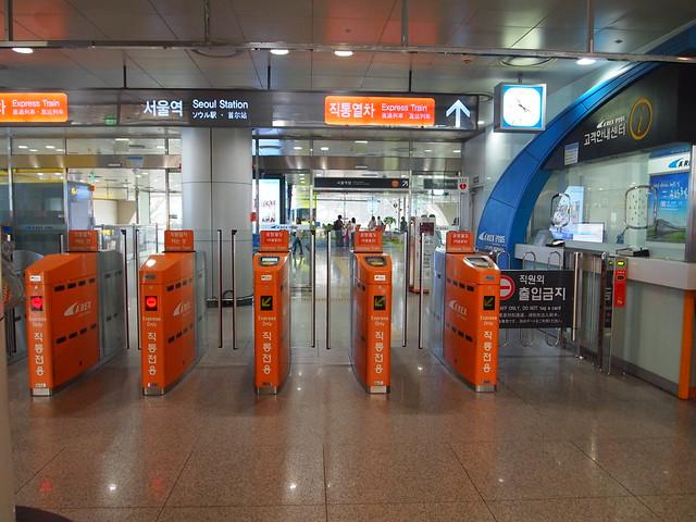 P9242174 空港鉄道(A'REX/コンハンチョルド/공항철도) 韓国 ソウル