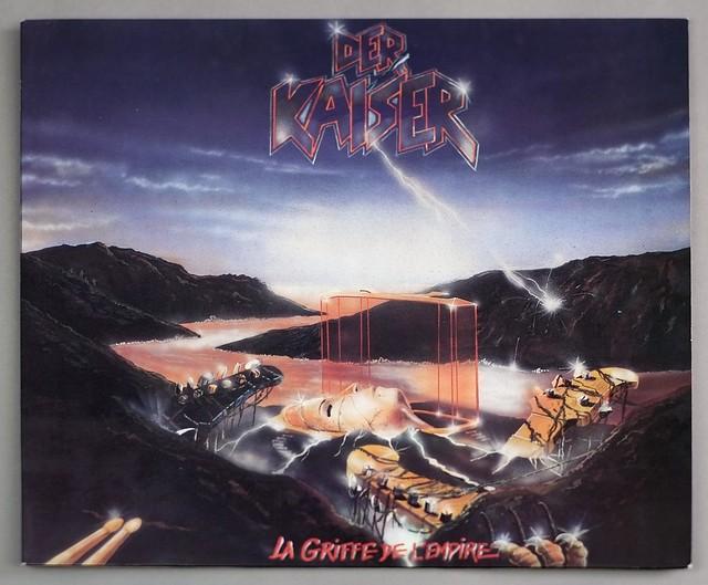 """DER KAISER LA GRIFFE DE L'EMPIRE 12"""" LP VINYL"""