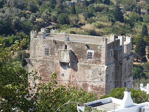 maison vénitienne dans la montagne de Naxos