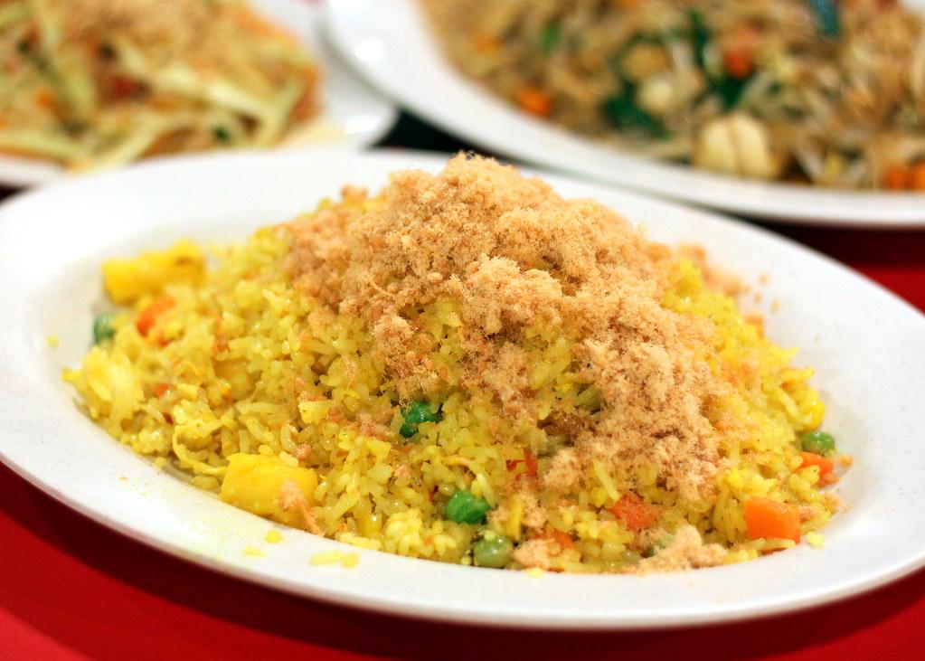 西萨克泰国菜菠萝炒饭