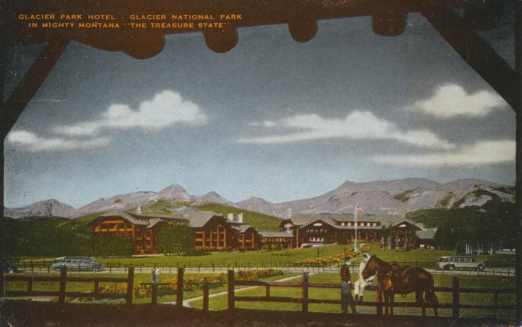 Glacier Park Hotel - Glacier National Park, Montana