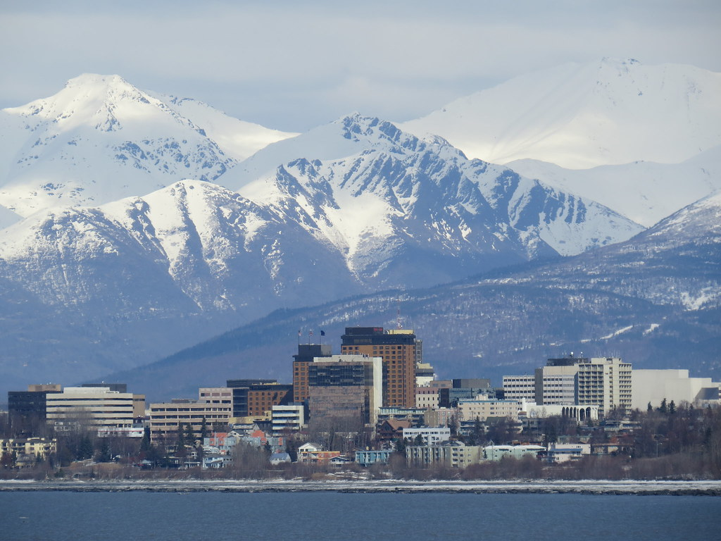 Al Com Mobile >> Anchorage Downtown | Downtown anchorage seen from just ...