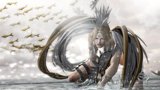 Astralia - Wisdom angel @Gacha Garden