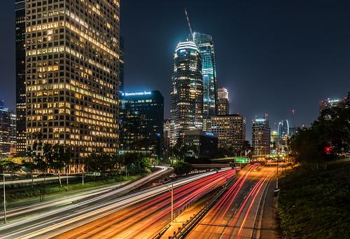 big city lights of downtown los angeles big city lights of flickr. Black Bedroom Furniture Sets. Home Design Ideas